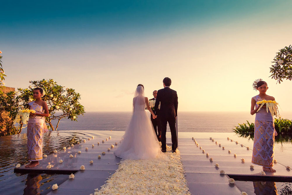13 of the coolest wedding places in bali where you can for Bali mariage location