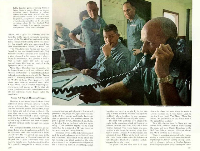 NATIONAL GEOGRAPHIC 1968-09 (3) - Air Rescue Behind Enemy Lines