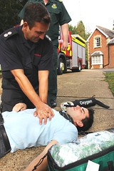 Surrey Fire and Rescue Service Co-responding scheme