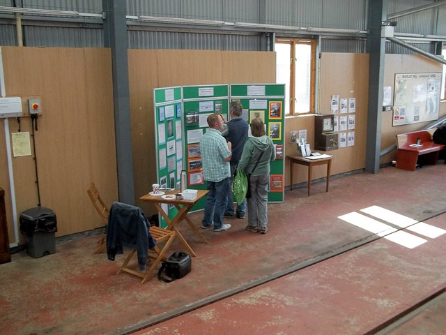 Sunniside History Stand at Tanfield Sept 15 1