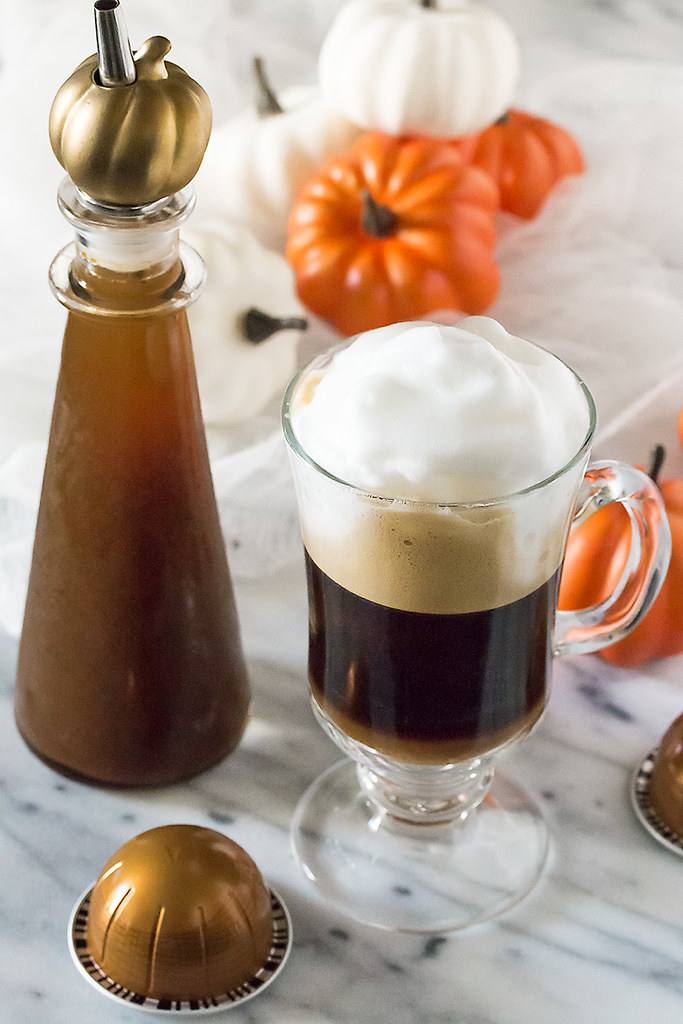 Make PSLs at home with Homemade Pumpkin Spice Coffee Syrup