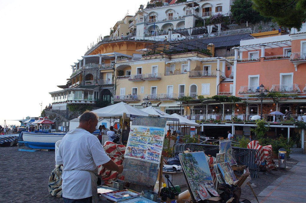 Central Beach of Positano - Spiaggia Grande