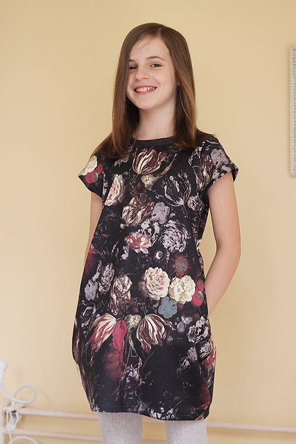 Cocoon Dress for my Birthday Girl