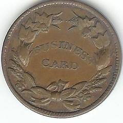Civil War Token ILL 150-bA-1a reverse