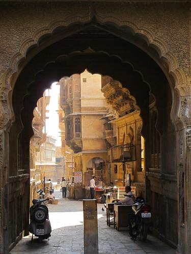 Jaisalmer: à la recherche des havelis