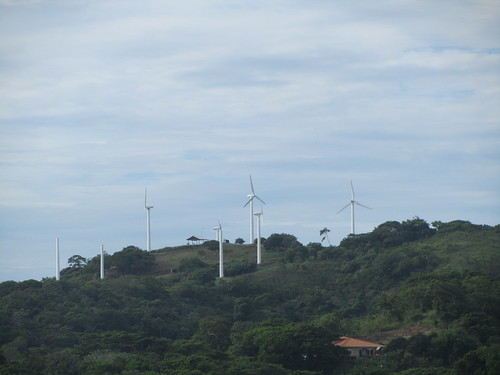 Wind farm, Roatan