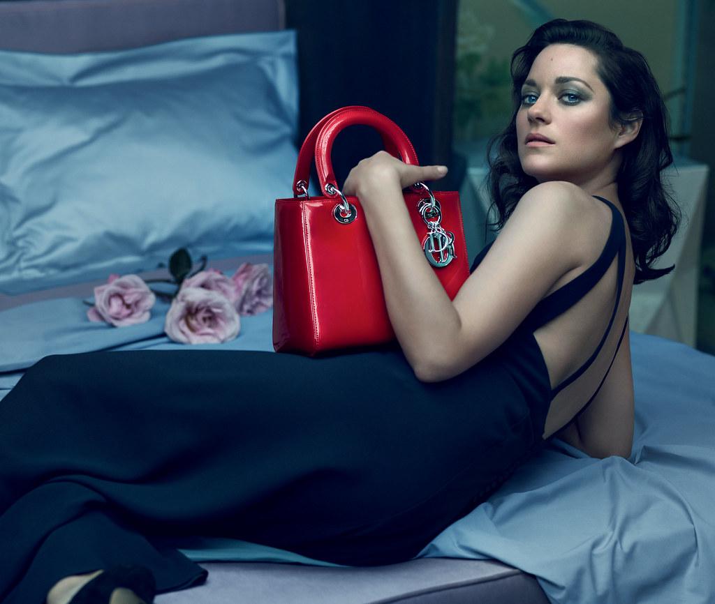 Марион Котийяр — Фотосессия для «Lady Dior» 2015 – 2