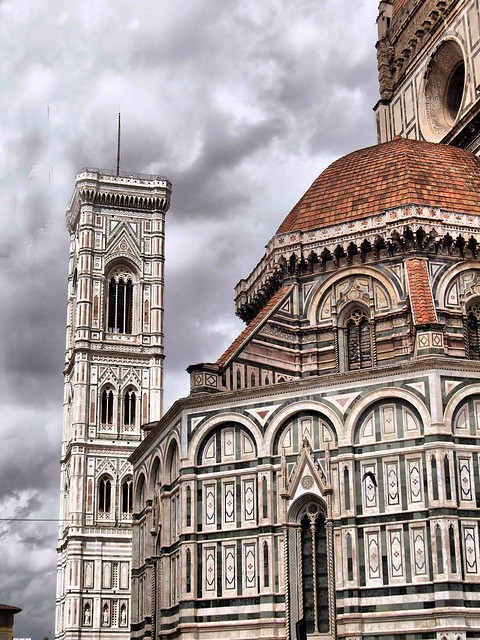 Florenc Cathedral Tower Italy2015 206