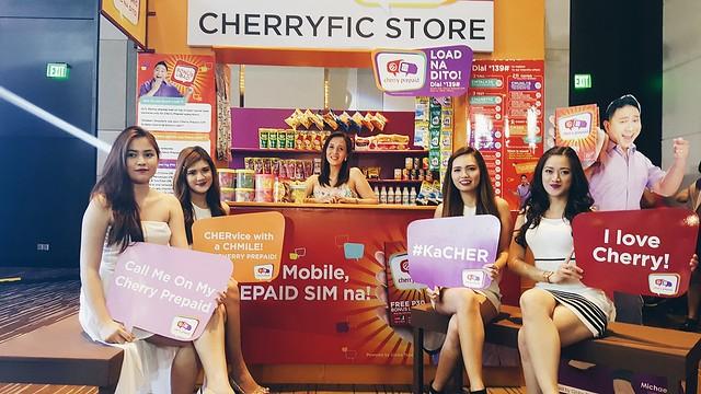 Cherry mobile x Globe