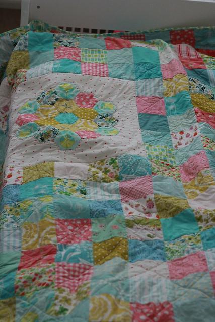 Little girl's quilt