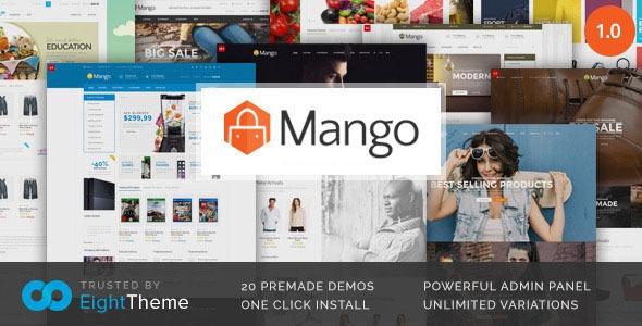 Themeforest Mango v1.0.5 - Responsive Woocommerce Theme