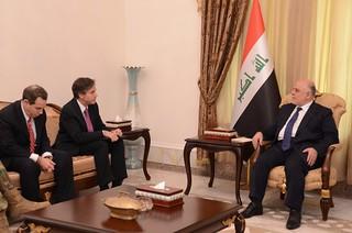 Deputy Secretary Blinken and Ambassador Jones Meet With Iraqi Prime Minister Abadi in Baghdad