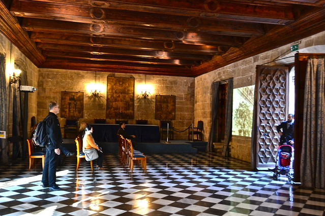 chapel Lonja de la Seda - The Silk Exchange, valencia