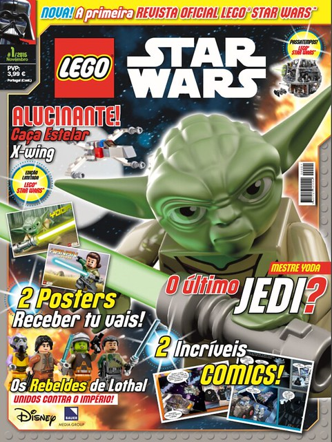 Revista LEGO Star Wars 1a
