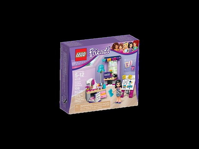 LEGO Friends 41115 - Emma's Creative Workshop