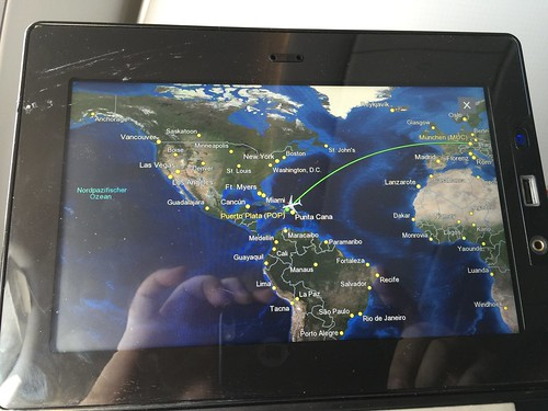Approaching Puerto Plata / Anflug auf Puerto Plata