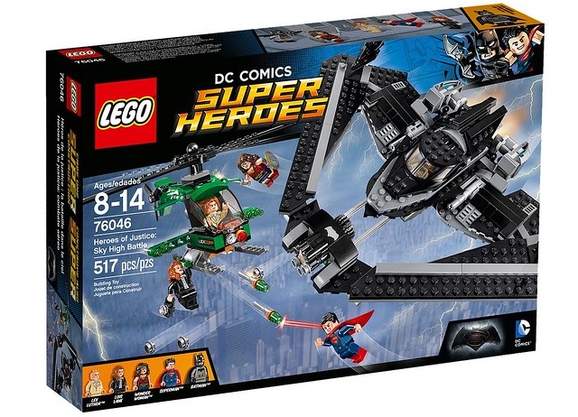 LEGO® 76046【正義英雄:高空之戰】Heroes of Justice: Sky High Battle