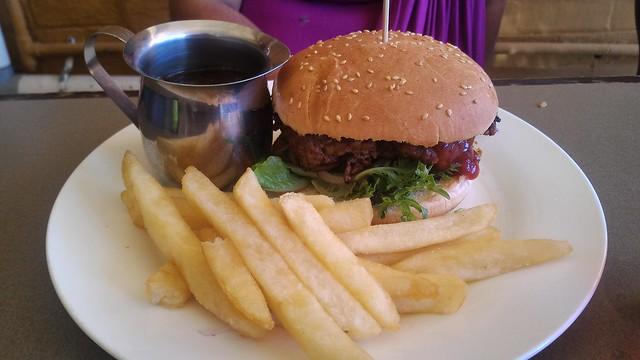the lass burger