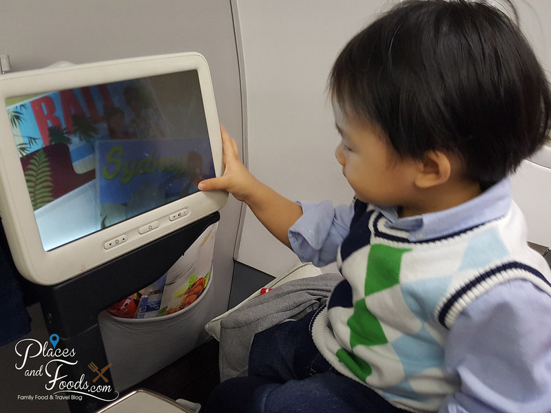 flying with baby zen on malaysia airlines business class inflight