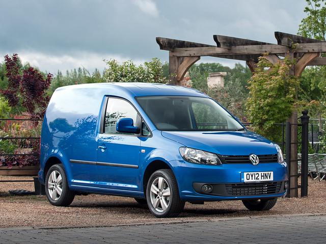 Volkswagen Caddy Kasten для рынка Британии. 2010 – 2015 годы
