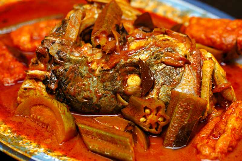 ZK Jenahak Fish Head Curry