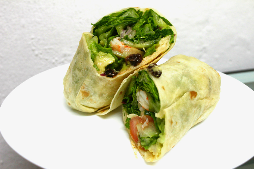 Lunch Places in Raffles Place: Salads and Wraps