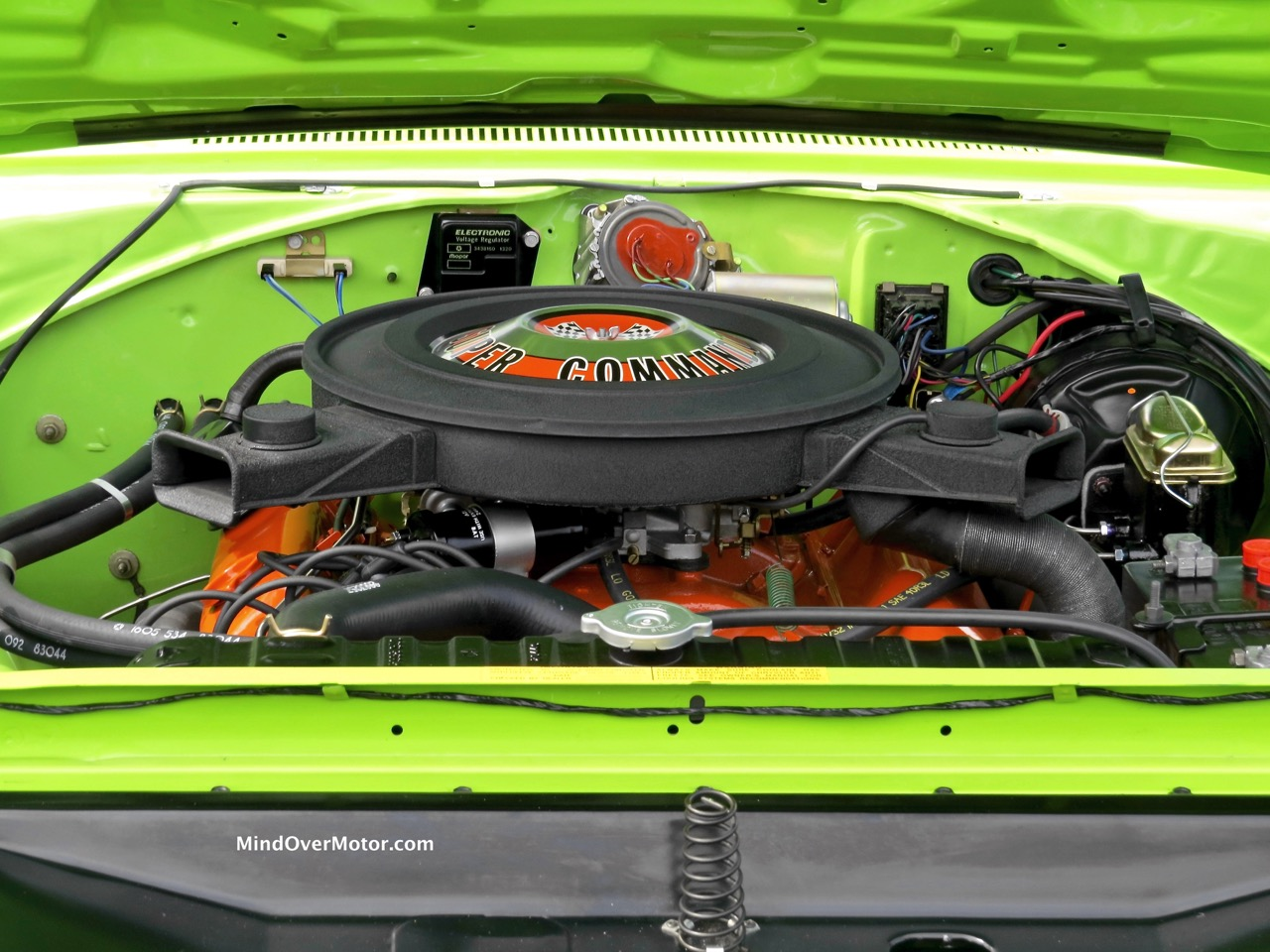 1970 Plymouth Superbird Engine