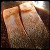 #Homemade #MapleGlazed #salmon #CucinaDelloZio - marinate flesh down