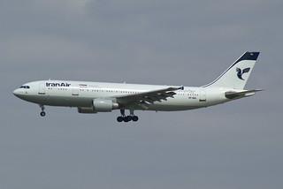 Iran Air Airbus A300B4-605R EP-IBA