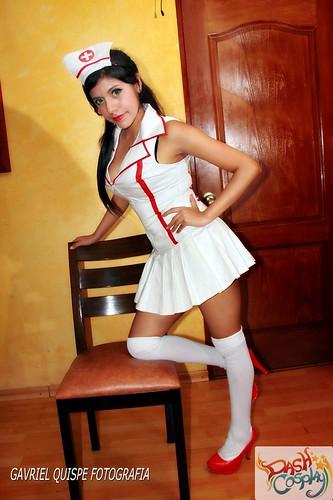 Dash Cosplay Akali Nurse LoL By Naomi Orlov