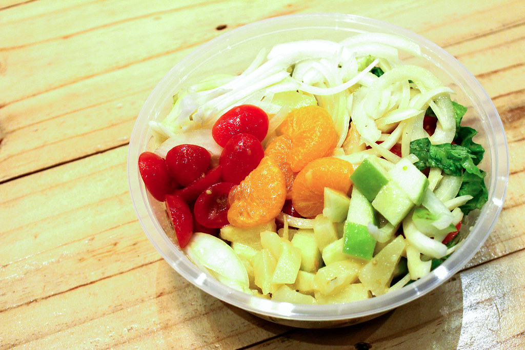 Lunch Places in Raffles Place: The Salad Corner