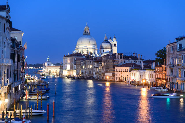 Venice, Italy - Santa Maria della Salute
