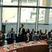 Achim Barchmann diskutierte im Europaausschuss des Bundestages mit EZB-Präsident Mario Draghi