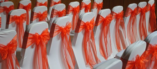 Chair Cover Red 1