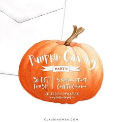 Why not host a pumpkin carving party? :jack_o_lantern: Are you ready for Halloween? Just a few more days to go! :ghost: #halloween #pumpkincarving #party #partysupplies