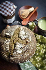 Matcha Chestnut Bread