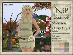 NSP Woodstock Daisy Tank Dress - V6