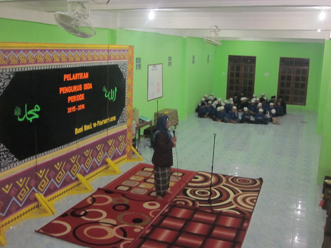Pergantian Pengurus Ikatan Santri Darul 'Amal (ISDA) 2015-2016