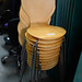 Beech Shell canteen chair