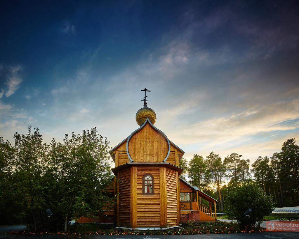 Храм в деревне Сайгатина