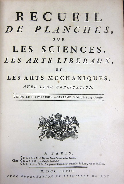 diderot title page plates
