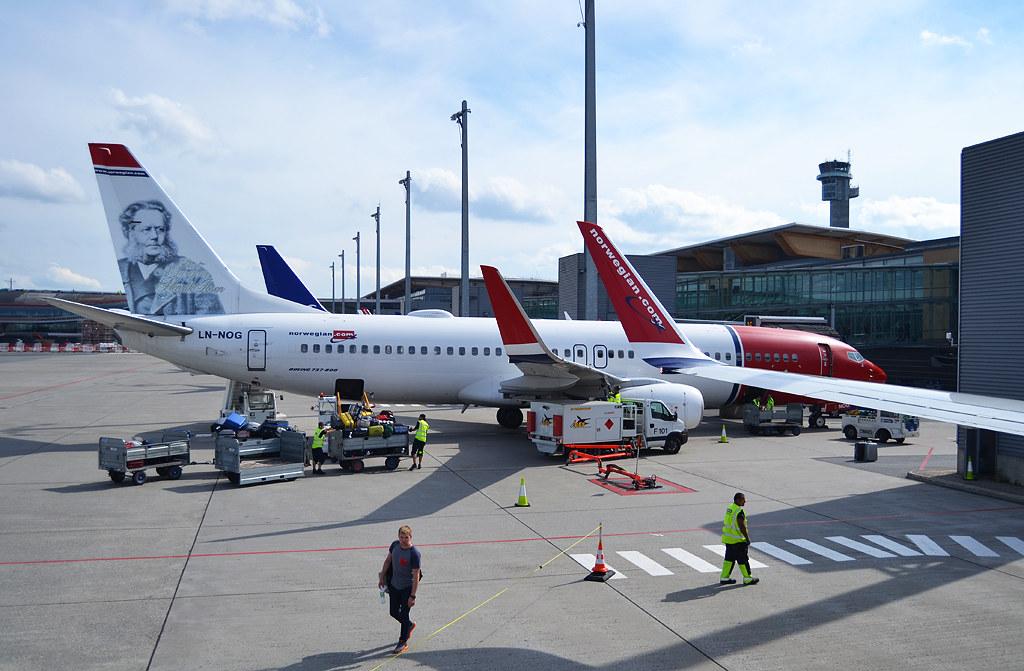 Resultado de imagen para norwegian oslo airport