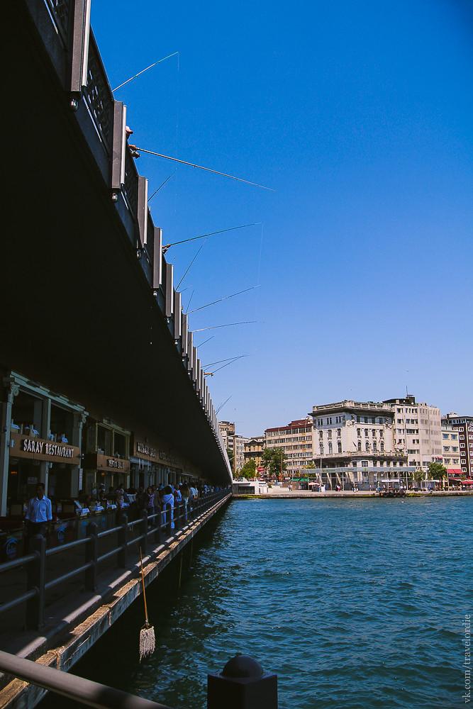 Galata bridge, Istanbul / Галатский мост, Стамбул