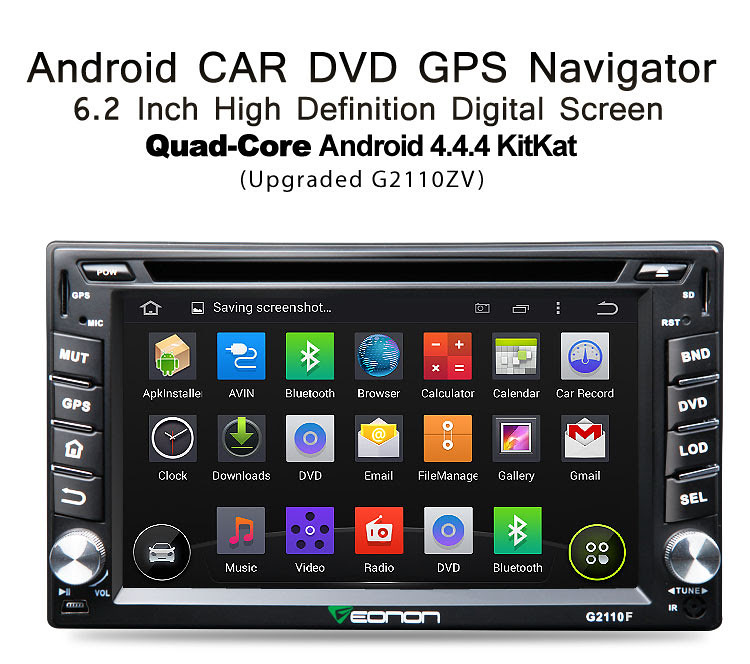 New King G2110F with Android 4.4.4 Quad-Core CPU & BMW/Opel New Arrivals!