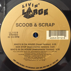 SCOOB & SCRAP:NON STOP(LABEL SIDE-B)