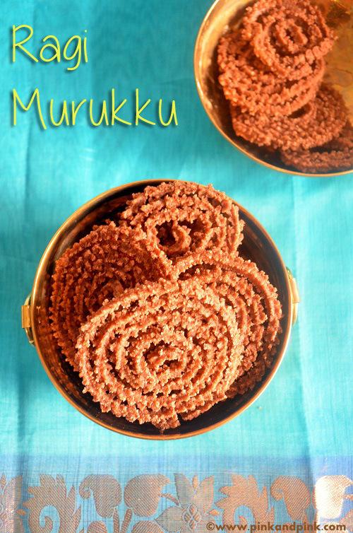 Ragi snack dish Murukku