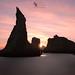 Last light in Bandon by Andrew Kumler