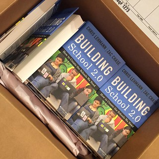 Now it's real. On the shelves in seven days. http://www.amazon.com/gp/aw/d/1118076826/ #school20