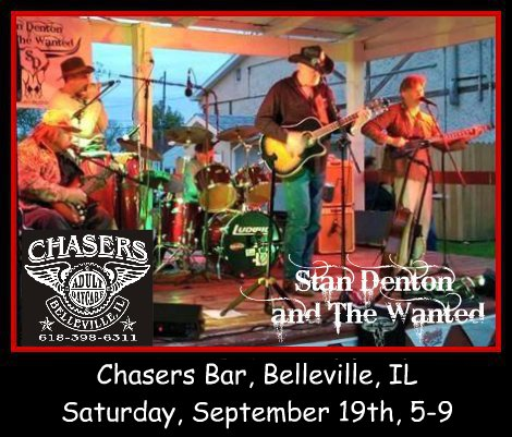 Stan Denton & The Wanted 9-19-15