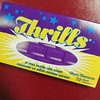 Oh my childhood. #Thrills #gum #tasteslikesoap by jacob earl